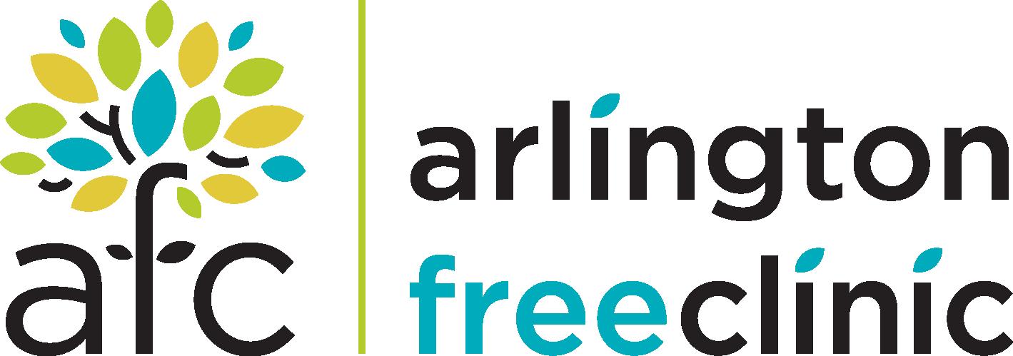 arlington free clinic - logo image