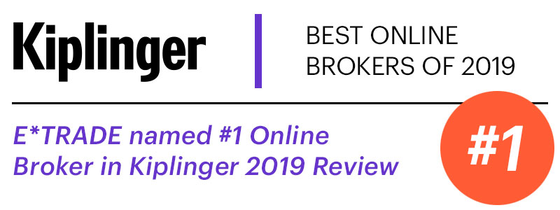 Kiplinger Best of Online Brokers Survey 2019 - Number 1 Online Broker Award