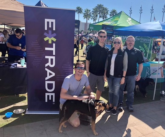 Tampa Branch- Bark in the Park fundraising event for Humane Society