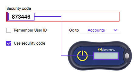 how to use the hardware token
